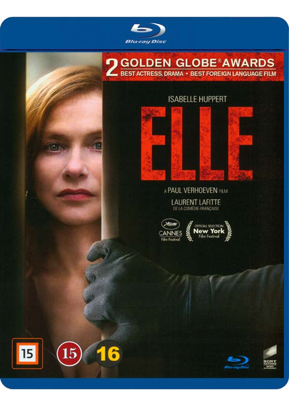Elle Blu-ray cover