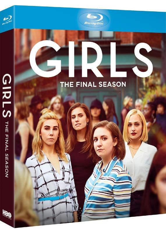 Girls season 6 blu-ray cover
