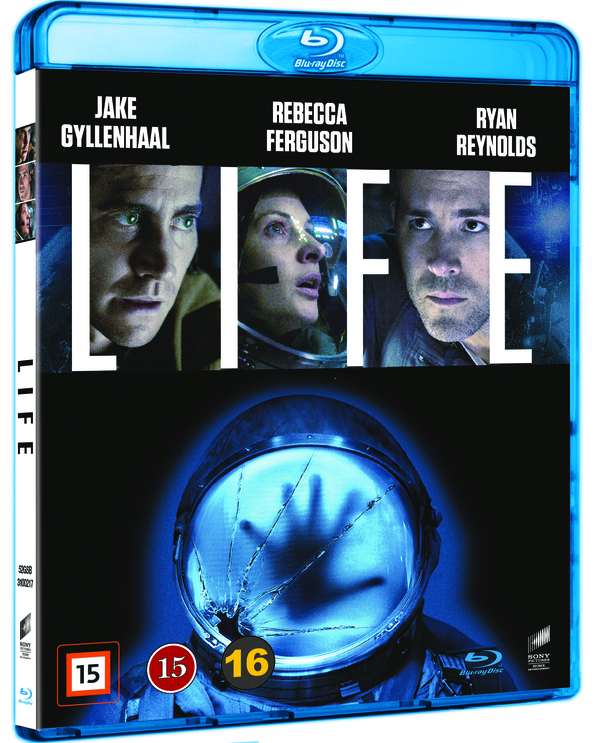 Life blu-ray cover