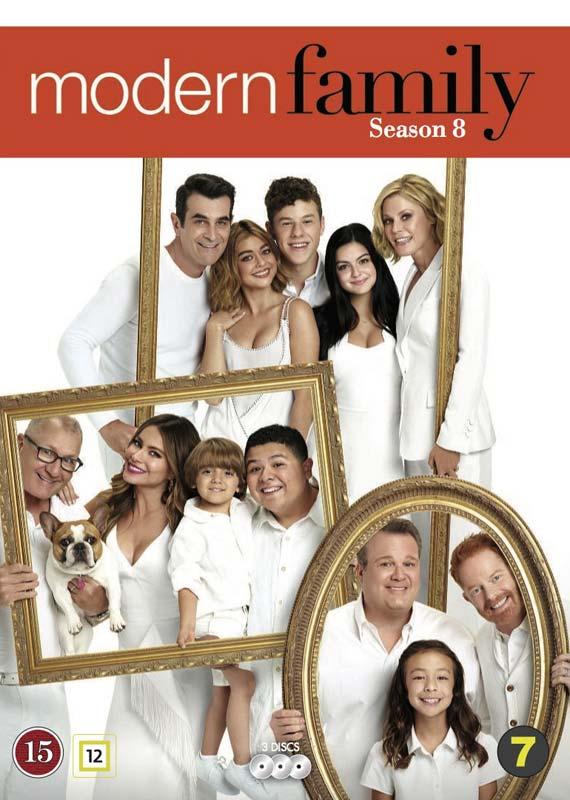 Modern Family Season 8 cover