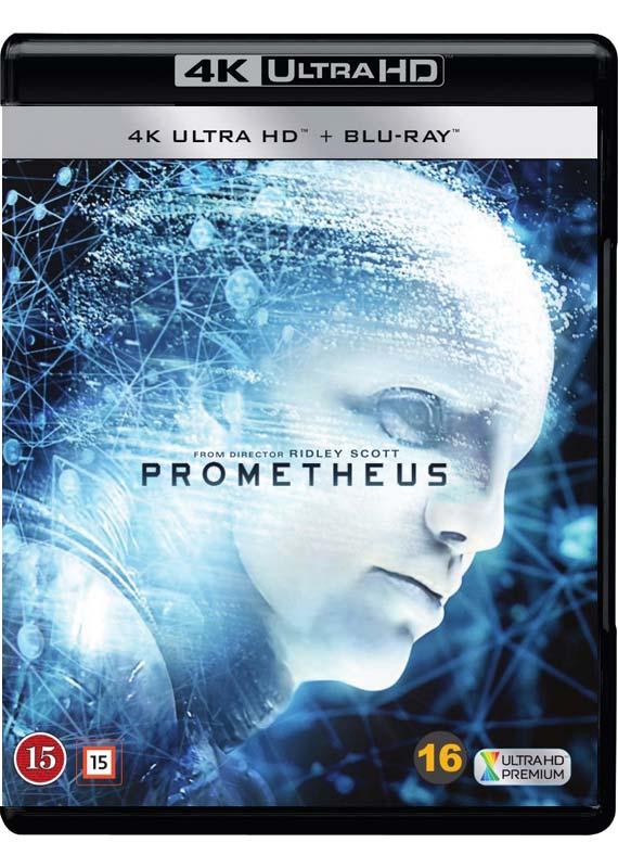 Prometheus 4k ultra hd cover