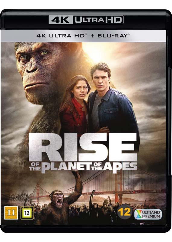 Rise of the Planet of the Apes 4k cover