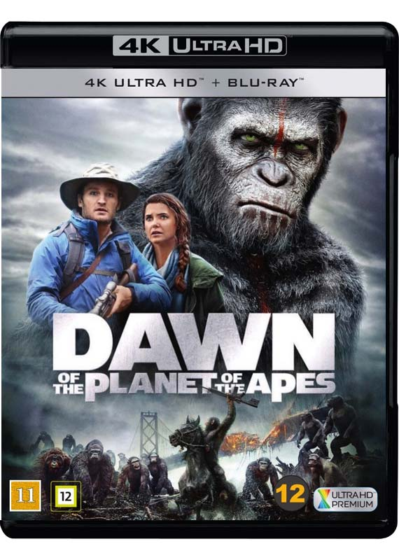 dawn of the planet of the apes 4k cover
