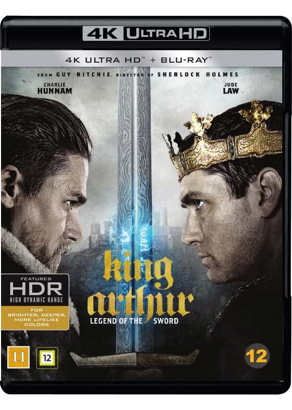King Arthur 4K anmeldelse cover