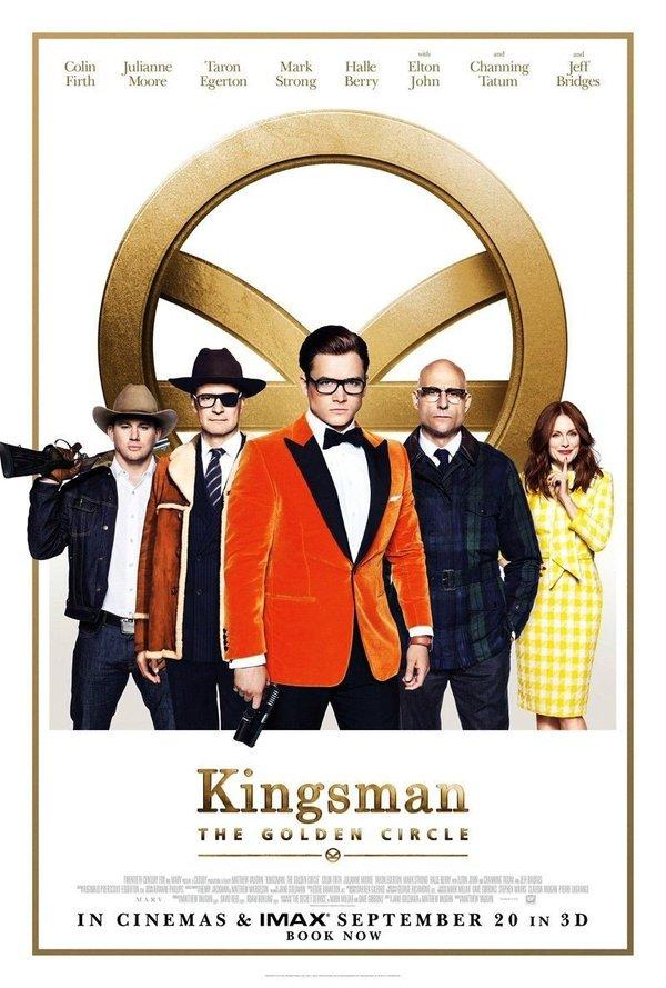 Kingsman The Golden Circle biograf poster