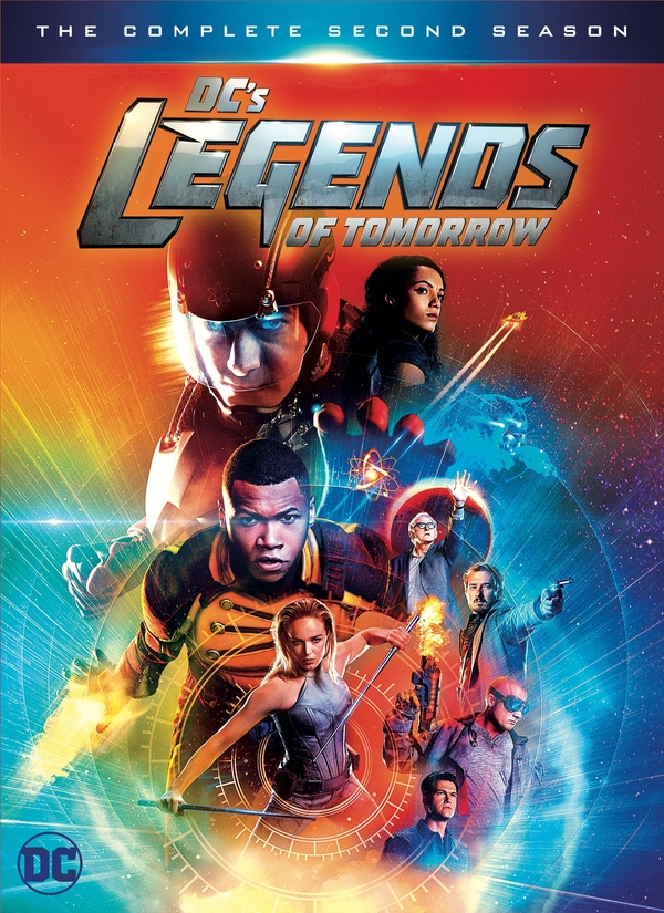 Legends of Tomorrow blu-ray cover
