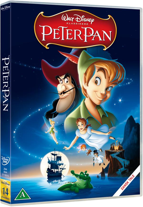 Peter Pan dvd cover