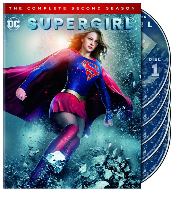 Supergirl season 2 blu-ray cover