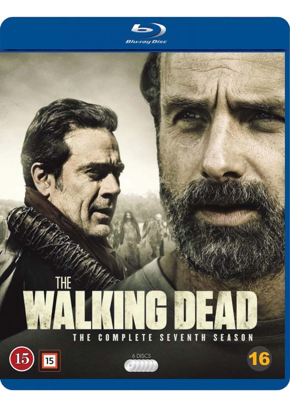 The Walking Dead sæson 7 Blu-ray cover