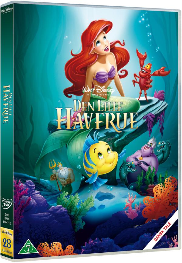 den lille havfrue dvd cover