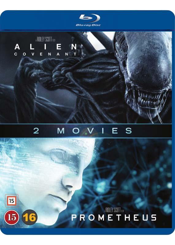 Alien Covenant & Prometheus cover