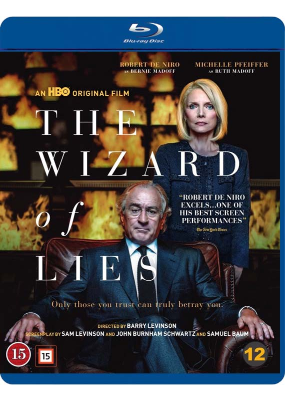 The Wizard of Lies blu-ray cover
