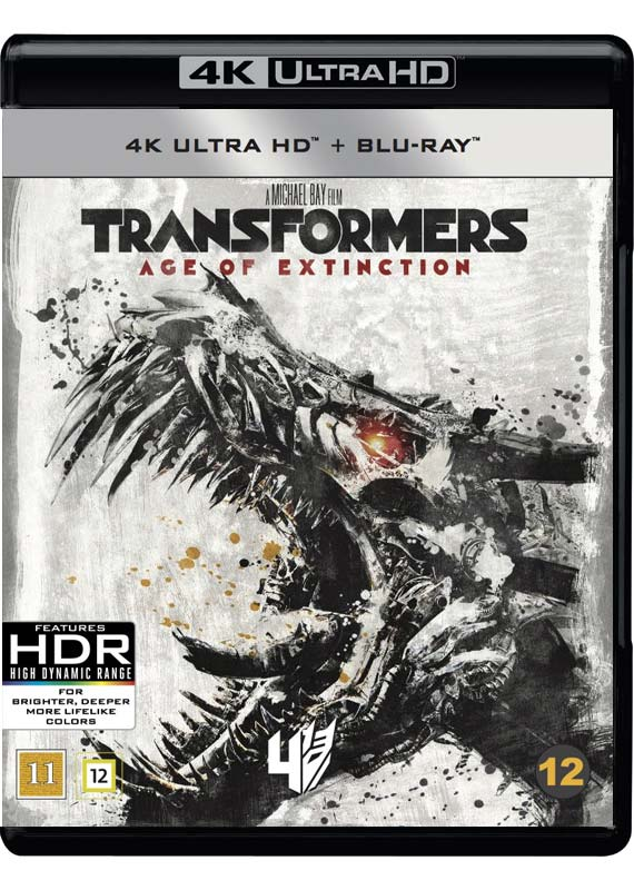 Transformers Age of Extinction cover