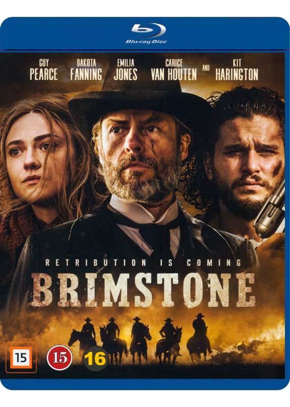 Brimstone blu-ray cover