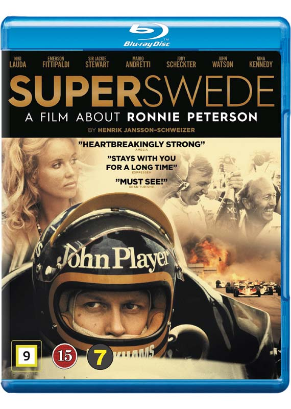 Superswede blu-ray cover