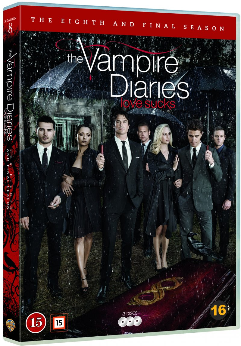 The Vampire Diaries dvd cover
