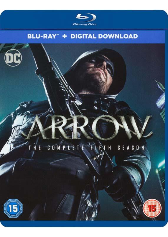 arrow blu-ray cover