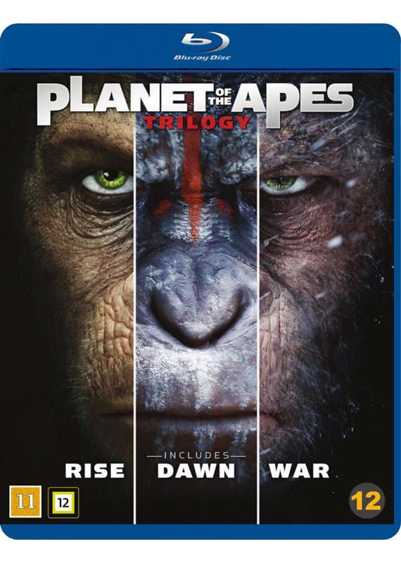 planet of the apes trilogy cover