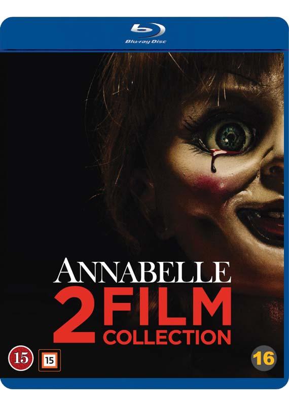 annabelle 1 og 2 blu-ray cover