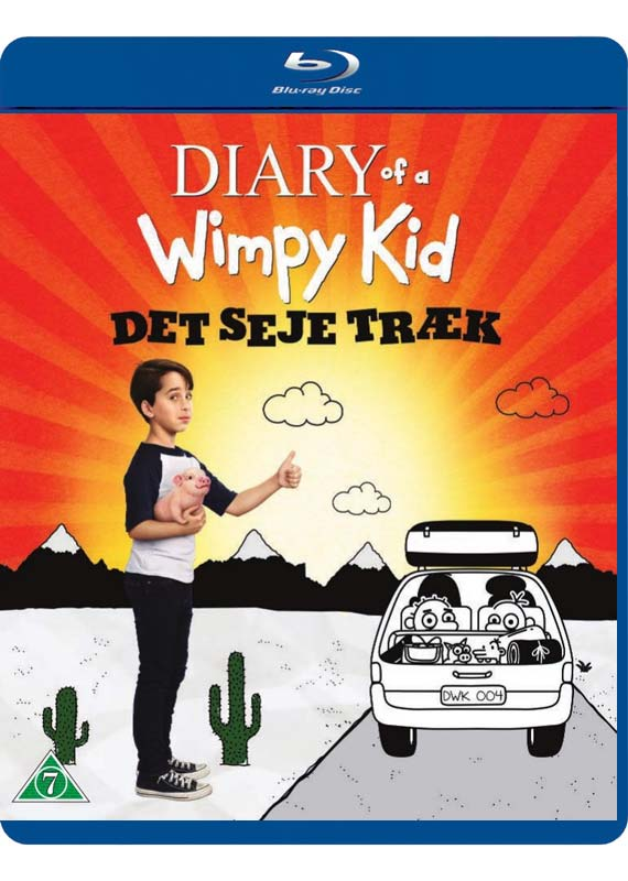Diary of a Wimpy Kid Det seje traek Blu-ray cover