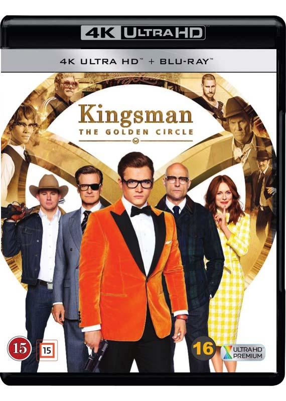 Kingsman The Golden Circle 4k cover