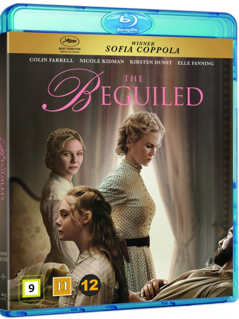 The Beguiled blu-ray cover
