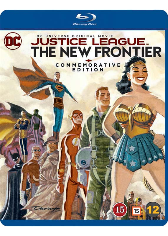 Justice League The New Frontier blu-ray cover