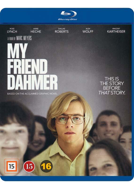 My Friend Dahmer blu-ray cover
