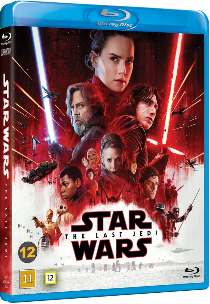 star wars the last jedi blu-ray cover