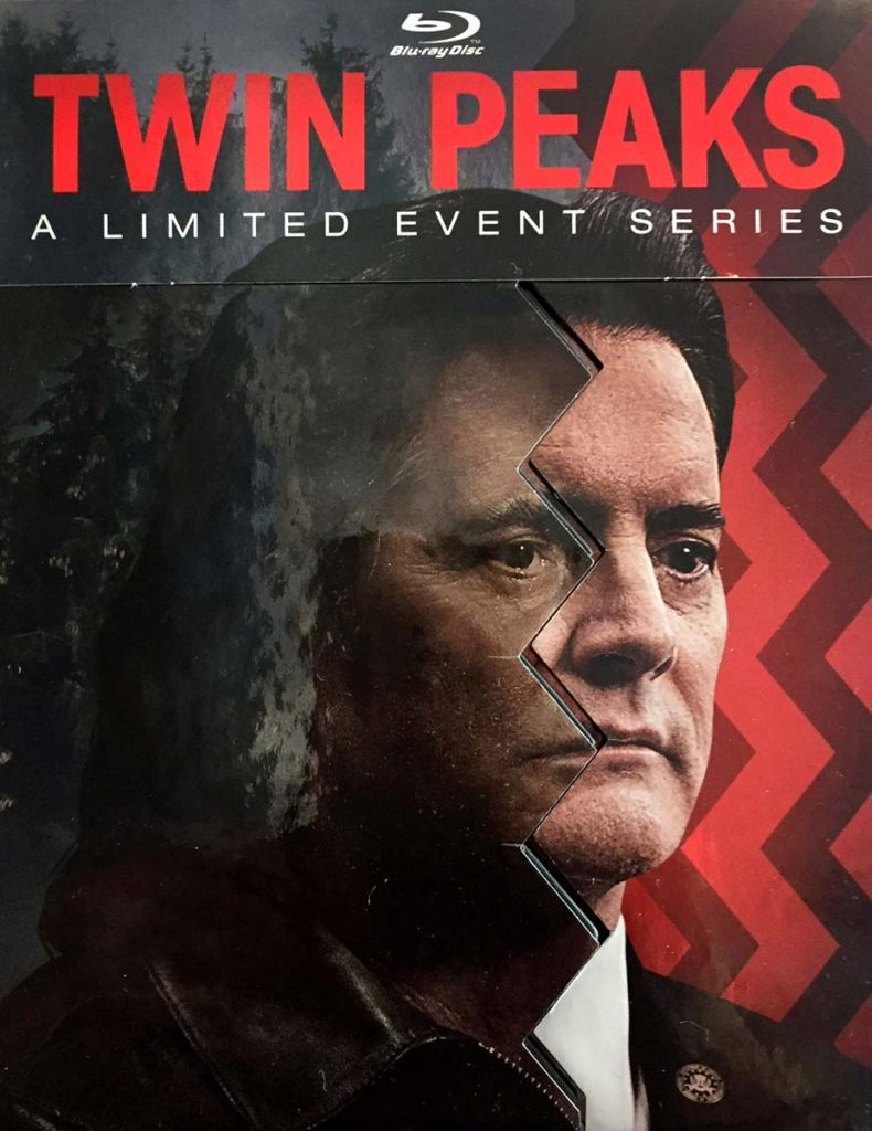 twin peaks event series blu-ray cover